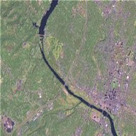 Zoom into Austin, Texas, using Landsat Imagery (WMS)