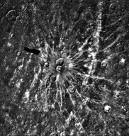 Degas Ray Crater on Mercury