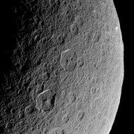 Ancient Craters on Saturn's Rhea