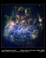 The Large Magellanic Cloud in Infrared
