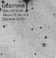 Optical Transient Near GRB970508 Shows Distant Redshift