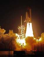Discovery Roars Toward Orbit