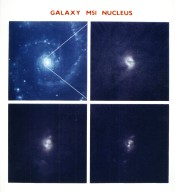 """NASA's Hubble Space Telescope Resolves a Dark """"x"""" Across the Nucleus of M51"""