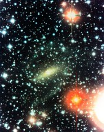 Astronomers Discover Nearby Spiral Galaxy Hidden Behind the Milky Way