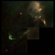Hubble Observes the Fire and Fury of a Stellar Birth