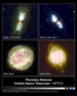 Hubble Captures the Shrouds of Dying Stars