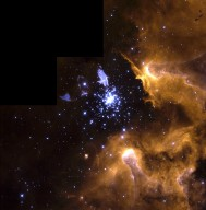 Hubble Snapshot Captures Life Cycle of Stars