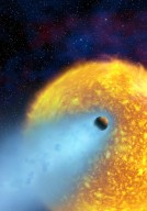 Oxygen and Carbon Found in Atmosphere of an Extrasolar Planet