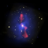 Host Galaxy Cluster to Largest Known Radio Eruption