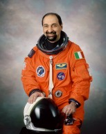 Photographic view of Umberto Guidoni, STS-100 Mission Specialist