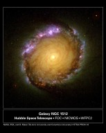 HST image of Spiral Galaxy NGC 1512