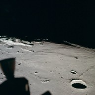 Apollo 11 Mission image - View of Moon,TO 115