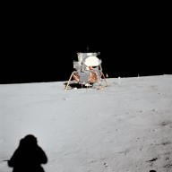 Apollo 11 Mission image - Lunar Module at Tranquility Base