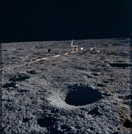 Apollo 12 Mission image - Deployment of ALSEP Central Station