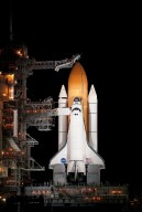 STS-129 Space Shuttle Atlantis on Pad 39A (200911150016HQ)