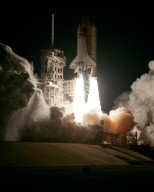 STS-123 launch view