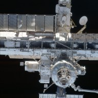 FWD view of the ISS taken during STS-113