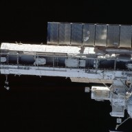 View of the A/L and P1 truss taken during STS-113