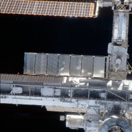 View of the ISS taken during STS-113