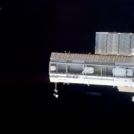 View of the P1 truss taken during STS-113