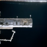 S1 truss on the ISS taken during STS-113