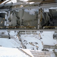View of Bay 03 on the S0 truss taken STS-113