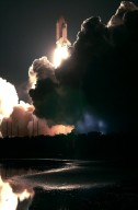 STS-109 launch view