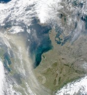 African Dust Reaches Northern Europe