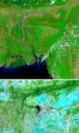 Floods in India and Bangladesh