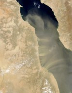 African Dust over the Red Sea