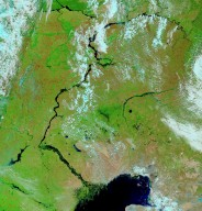 Springtime Floods in Southern Russia