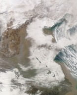 Snow in East China