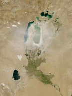 Dust Storm over the Aral Sea