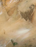 Dust Storm in the Bodele Depression, Chad