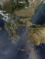 Fires in Southern Europe