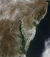 Ice in the Chesapeake Bay