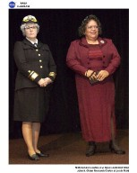 2005 Women's History Month Celebration, Women In History living vignettes of Rear Admiral Grace Hopper and Zelma Watson George