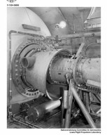 28 INCH BOMARC RAM JET ENGINE INSTALLED IN THE PROPULSION SYSTEMS LABORATORY PSL TANK
