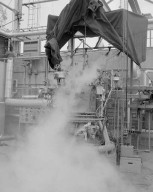 CARBON DIOXIDE CO2 DELUGE SYSTEM AT THE SOUTH 40 ROCKET ENGINE TEST FACILITY RETF