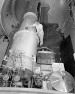 ROCKET SETUP IN THE PROPULSION SYSTEMS LABORATORY PSL NO. 2