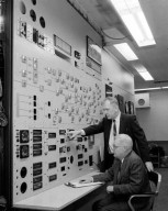 CONTROL PANEL AT THE PROPULSION SYSTEMS LABORATORY PSL EQUIPMENT BUILDING