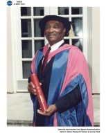 DON CAMPBELL RECEIVING DOCTOR OF SCIENCE HONORIS CAUSA DEGREE FROM CRANFIELD UNIVERSITY IN CRANFIELD UNITED KINGDOM