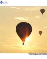 Hot Air Balloon Races at Inventing Flight in Dayton, Ohio, July 6, 2003