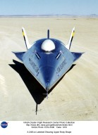 X-24B on Lakebed Showing Upper Body Shape