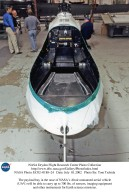 The payload bay in the nose of NASA's Altair unmanned aerial vehicle (UAV) will be able to carry up