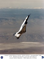 X-31 Demonstrating High Angle of Attack - Herbst Maneuver
