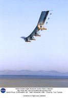 Centurion in Flight over Lakebed