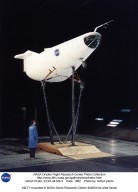 M2-F1 mounted in NASA Ames Research Center 40x80 foot wind tunnel