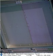 LDEF (Flight), S0001 : Space Debris Impact Experiment, Tray A05