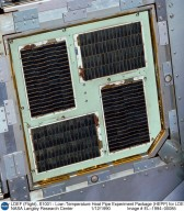 LDEF (Flight), S1001 : Low-Temperature Heat Pipe Experiment Package (HEPP) for LDEF, Tray H01